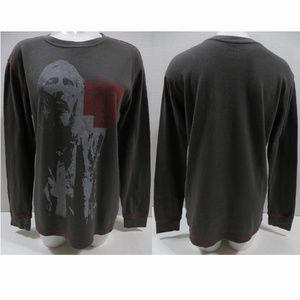 The Walking Dead shirt Large zombie long sleeve